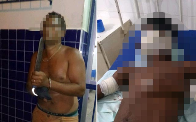 Caém: Homem é preso após esfaquear desafeto no Estádio Municipal