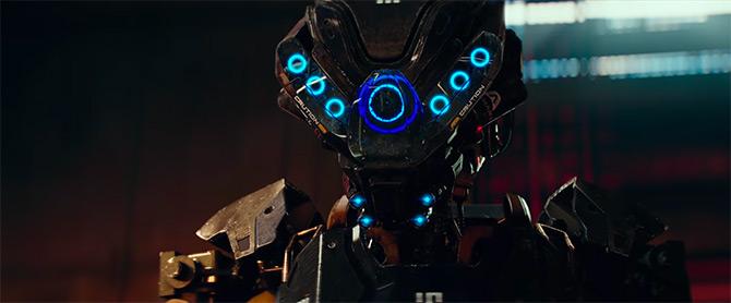 Pertunjukkan robot pada perintah netflix kill