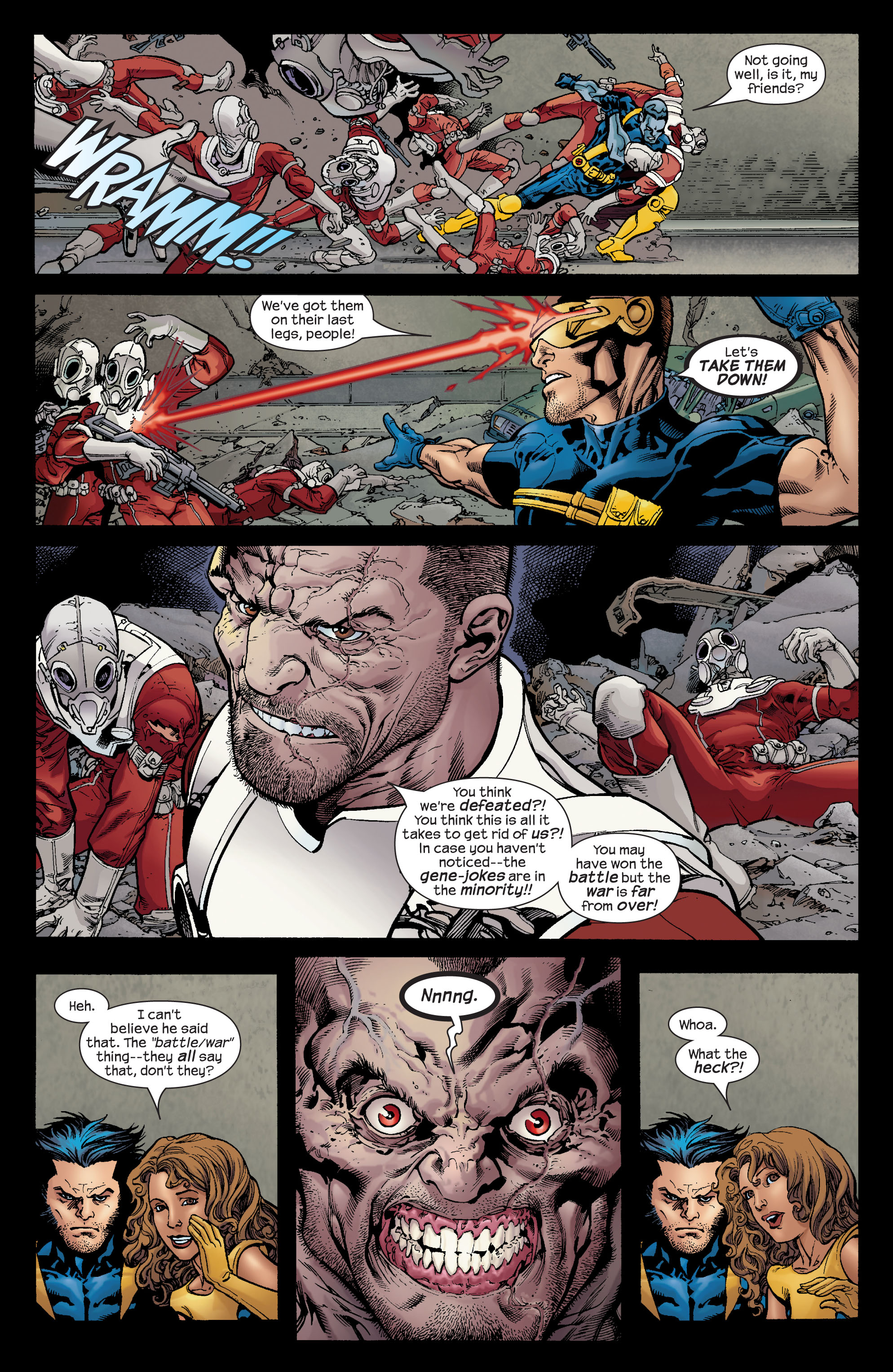 Read online Ultimate X-Men comic -  Issue #72 - 9