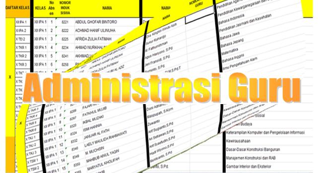 Download Aplikasi Administrasi Guru Kelas Versi Terbaru