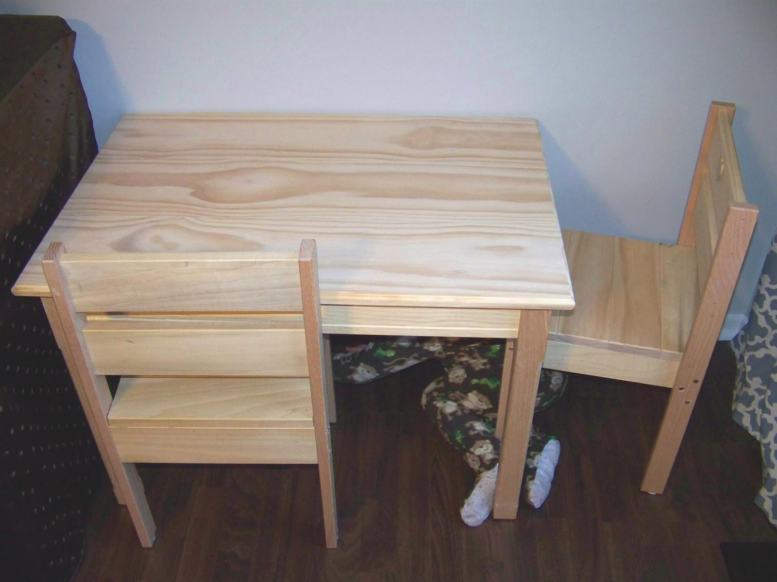 Diy Kids Table Chairs Mary Martha Mama