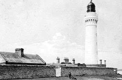 Old Photograph Hoy Lighthouse Scotland