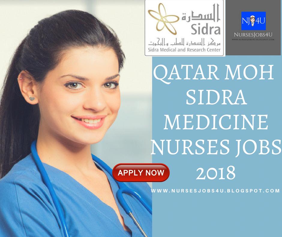 nursesjobs4u: QATAR MOH-SIDRA MEDICINE NURSES JOBS 2018