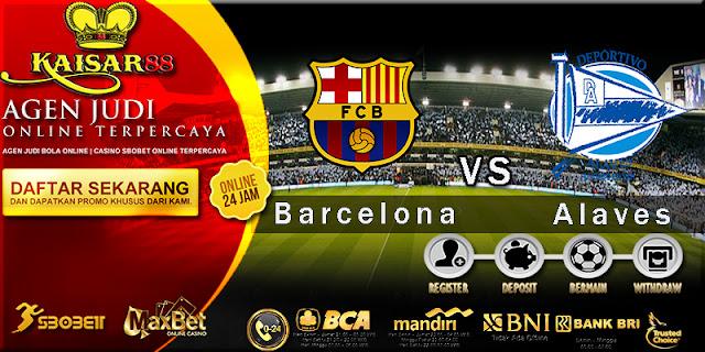Prediksi Bola Jitu Barcelona vs Deportivo Alaves 29 Januari 2018