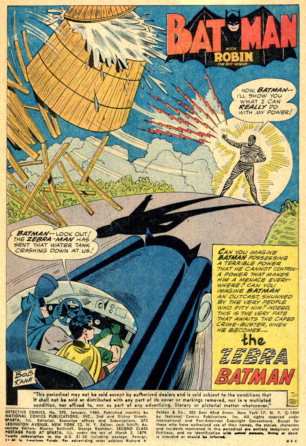 Read online Detective Comics (1937) comic -  Issue #275 - 3