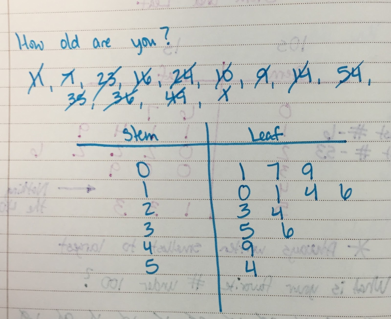 The 4th Grade May Niacs Frequency Tables Dot Plots And