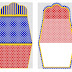 Blue, Red and Yellow: Free Printable Purse Invitations.