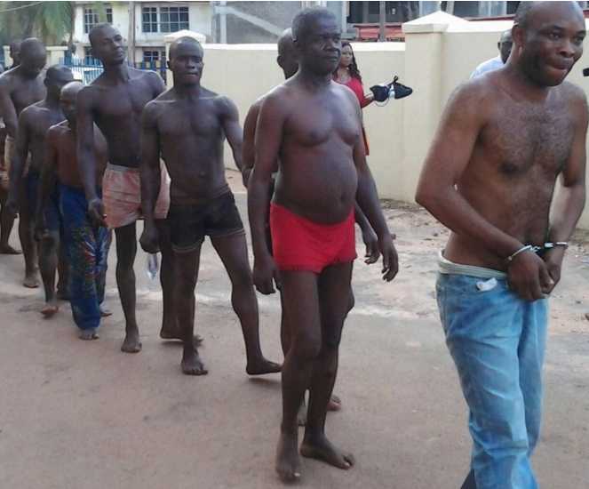 massob members arrested owerri imo state