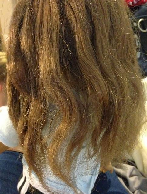 american girl doll  hair wavy