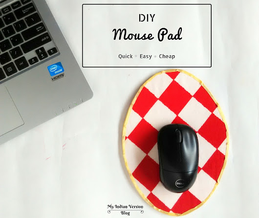 DIY Quick and Easy MOUSE PAD