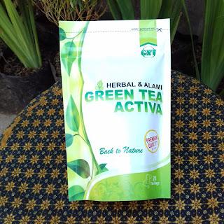jual green tea activa