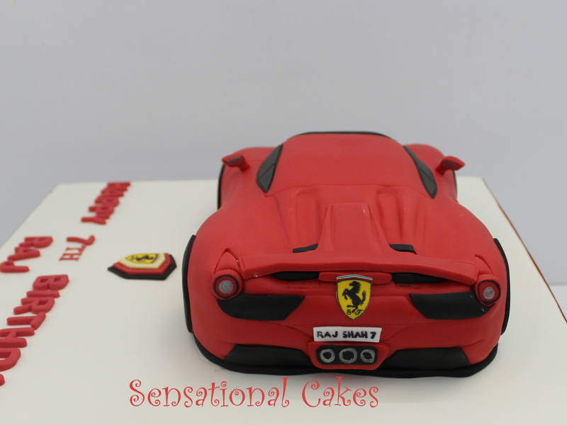 The Sensational Cakes: A RED FERRARI 911 3D CAKE SINGAPORE ...