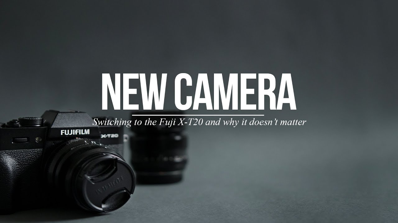 Why I switched from the Fuji X100 to the Fuji X-T20... and why it really doesn't matter.
