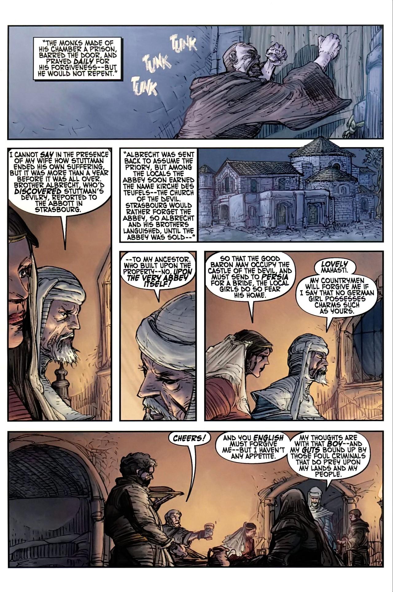 Read online Solomon Kane comic -  Issue #1 - 23
