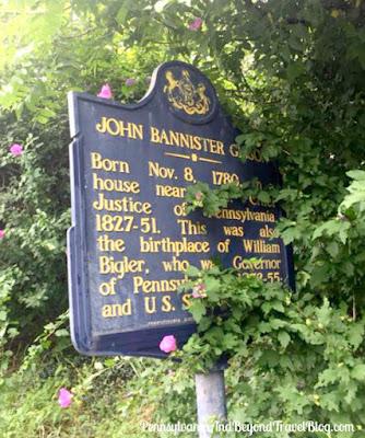 John Bannister Gibson Historical Marker in Shermans Dale Pennsylvania