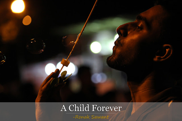 Cover Photo: A Child Forever - Ronak Sawant