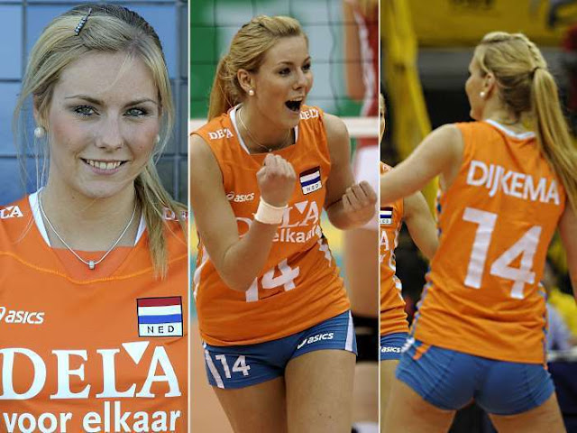 Laura Dijkema atlet voli seksi Belanda