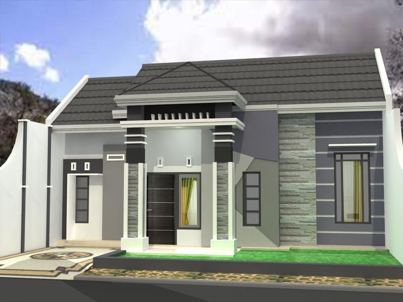 60 Contoh Model Rumah Minimalis Terbaru 2017 Yang Elegan Dan Modern -  DISAIN RUMAH KITA