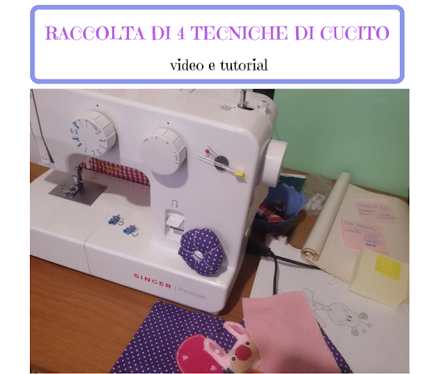Raccolta di tecniche di cucito - tutorial e video