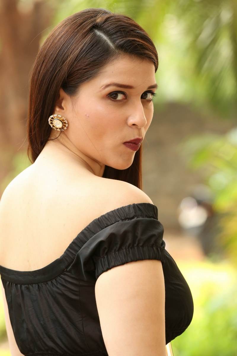 Mannara Chopra At Rouge Movie Sucessmeet Photos