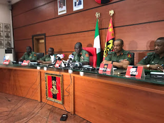 News: Nigerian Army effects major shake-up, redeploys generals [Full list]