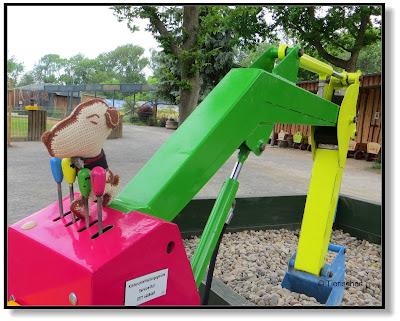Snoopy im Tierpark