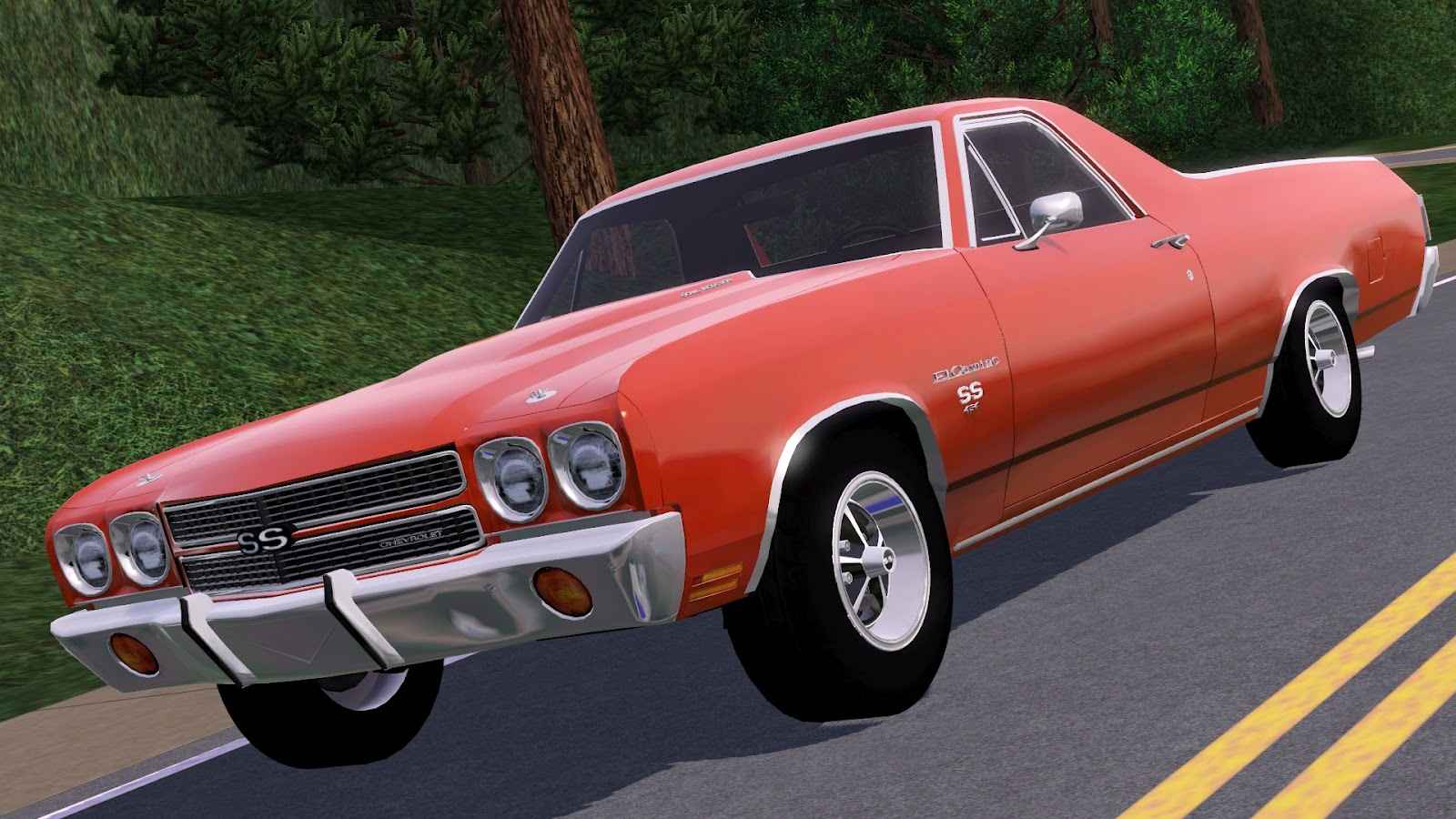My Sims 3 Blog 1970 Chevrolet El Camino Ss By Fresh Prince