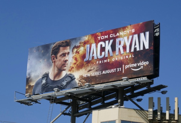 Jack Ryan series premiere billboard