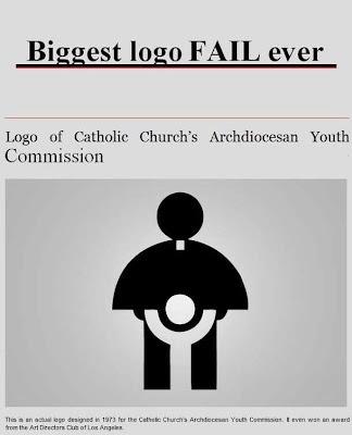 katholische Kirche Logo zum Lachen