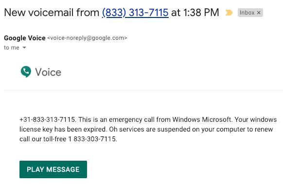 emergency call microsoft license key expired