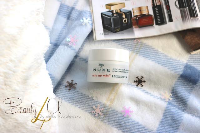 NUXE Reve de Miel, Ultrakomfortowy krem do twarzy na dzień - recenzja