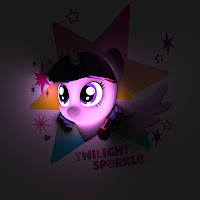 My Little Pony 3D Wall Deco Light Twilight Sparkle