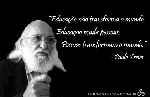 O Meu Mundo Se Transforma: Mundo Em Debate: Paulo Freire