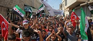 مظاهرات مناهضة للفساد في وسط بغداد