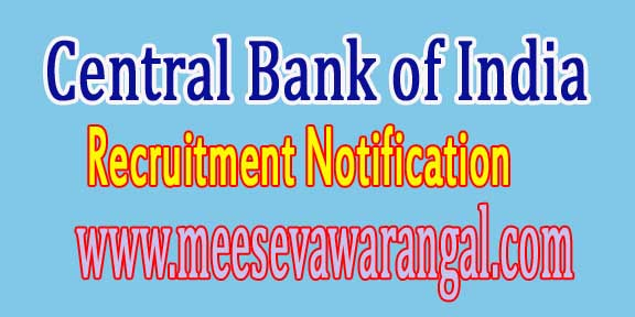 CBI (Central Bureau of Investigation) Recruitment Notification 2016