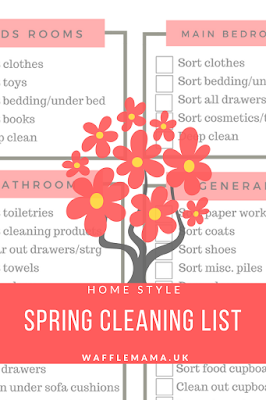 Decluttering list tidy home tips family home tidy