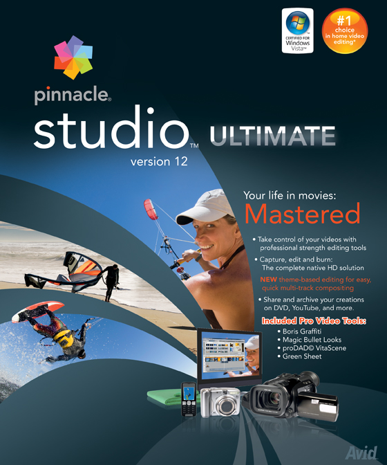 Online Pinnacle Studio 12 Ultimate