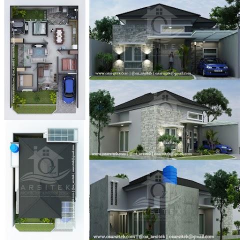 Desain Rumah Ibu Sari di Samarinda