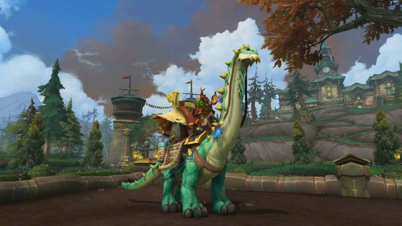 WoW New BfA Class Mounts Overview