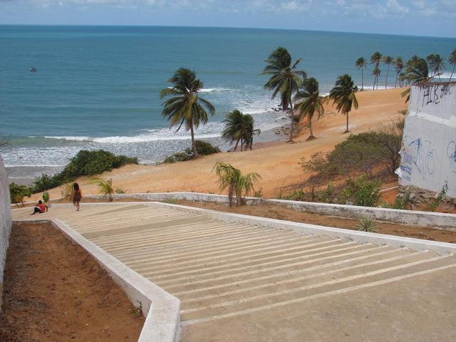 Escadaria da Praia de Lagoinha