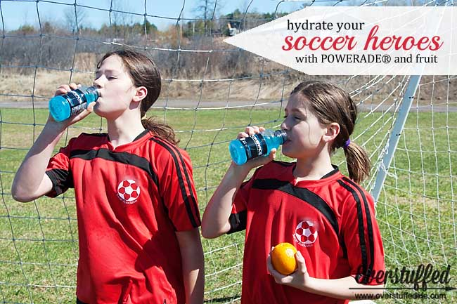 Keep your soccer hero hydrated with foods and drinks that have been proven to replenish the electrolytes lost during play. Also, make a fun mesh soccer snack kit to hand out at soccer practices and soccer games.