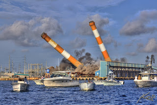 FPL coal plant implosion (Image Credit: Flickr user Captain Kimo)