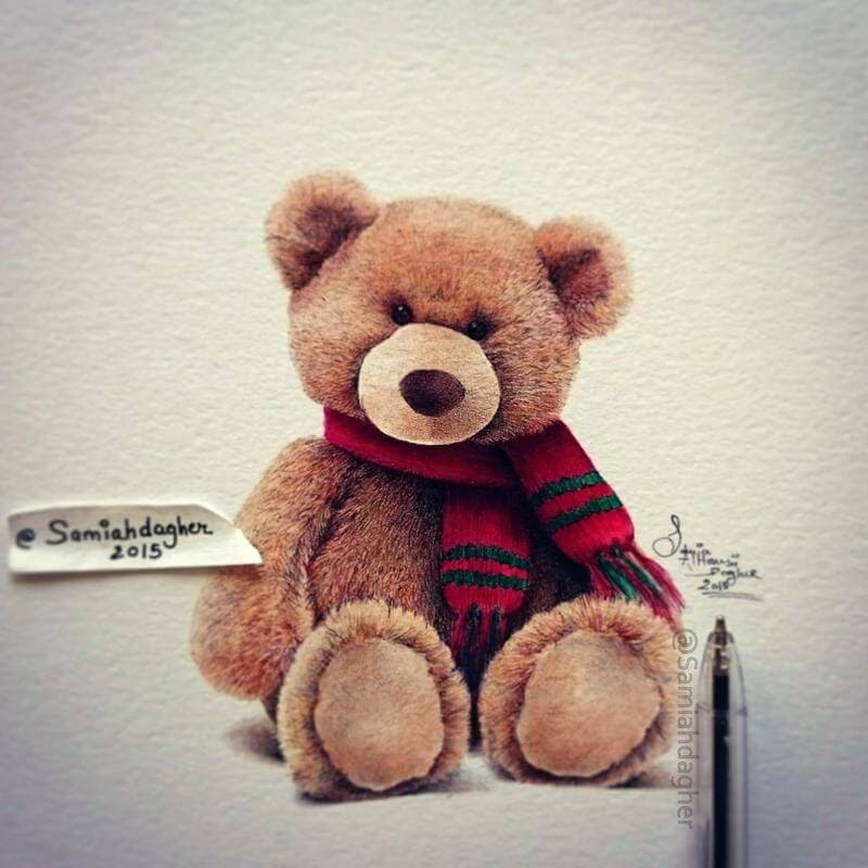 07-Teddy-Bear-Samia-Dagher-www-designstack-co