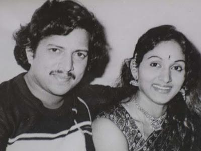 Bharathi and Vishnuvardhan