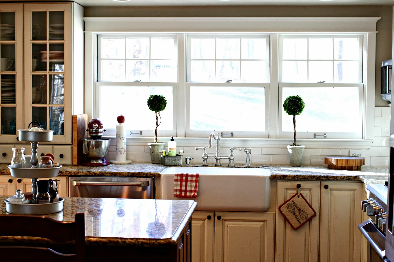 Belle Foret Farmhouse Sink Golden Boys And Me Our Latest Kitchen Makeover Reveal