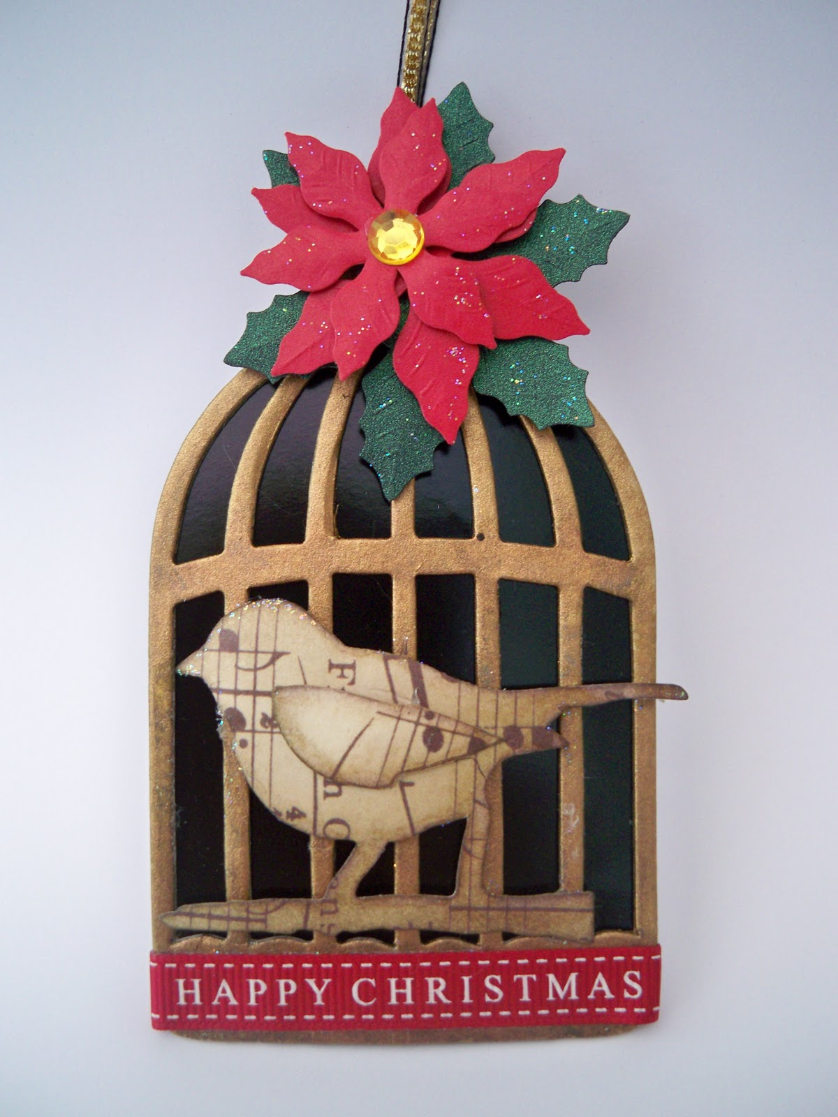 What Shall I Make Today?: Birdcage Christmas Decoration