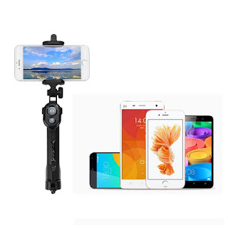braccio treppiede selfie stick bluetooth