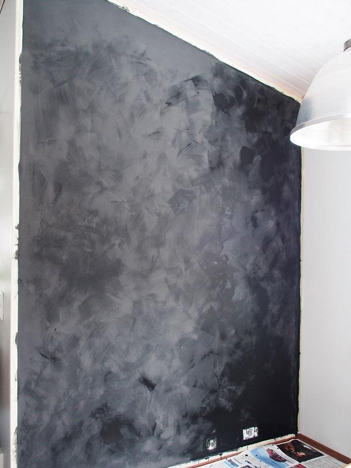 Anni Sloan Chalk Paint, seinän maalaaminen kalkkimaalilla, kalkkimaali seinä, kalkkimaalattu seinä, seinän kalkkimaalaus