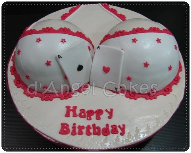 D Angel Cakes Boob Cake