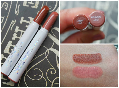 ColourPop x KathleenLights Lippie Stix in Aquarius & Taurus